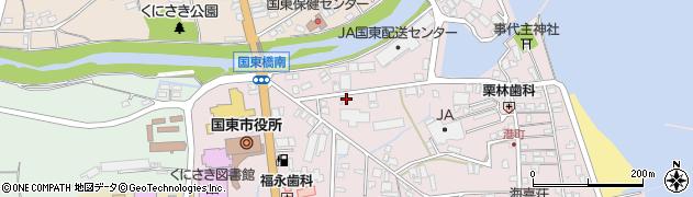 大分県国東市国東町鶴川56周辺の地図