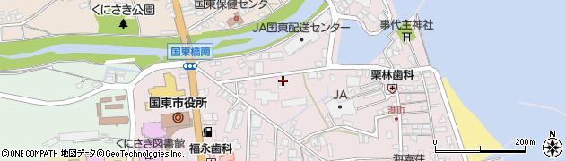大分県国東市国東町鶴川58周辺の地図