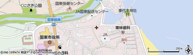 大分県国東市国東町鶴川31周辺の地図