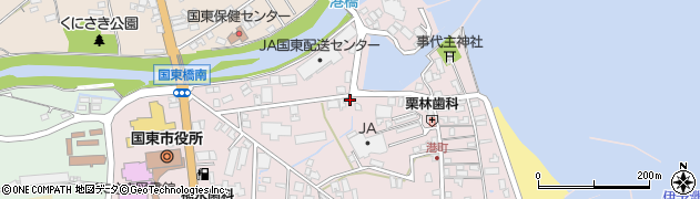 大分県国東市国東町鶴川30周辺の地図