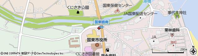 大分県国東市国東町鶴川5周辺の地図