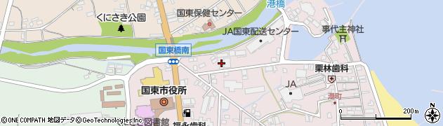 大分県国東市国東町鶴川43周辺の地図