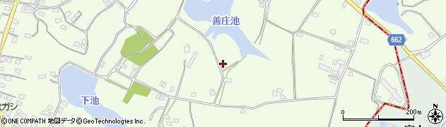 大分県中津市植野1607周辺の地図