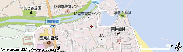 大分県国東市国東町鶴川32周辺の地図