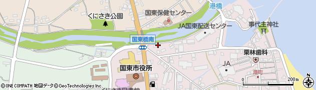 大分県国東市国東町鶴川13周辺の地図