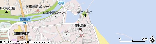 大分県国東市国東町鶴川316周辺の地図