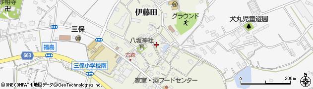 大分県中津市伊藤田3115周辺の地図