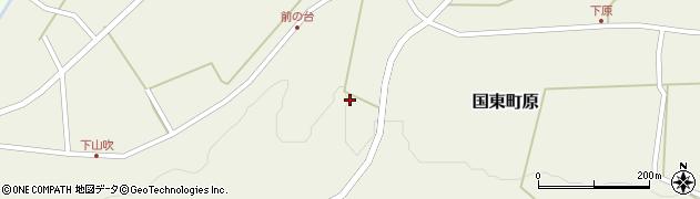 大分県国東市国東町原2164周辺の地図
