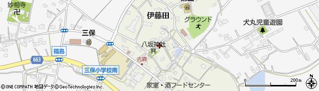 大分県中津市伊藤田3096周辺の地図