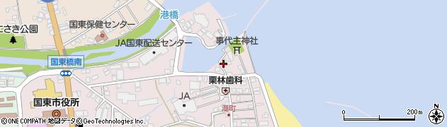 大分県国東市国東町鶴川320周辺の地図