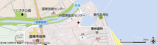 大分県国東市国東町鶴川19周辺の地図