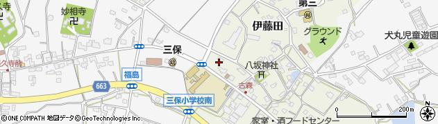 大分県中津市伊藤田3061周辺の地図