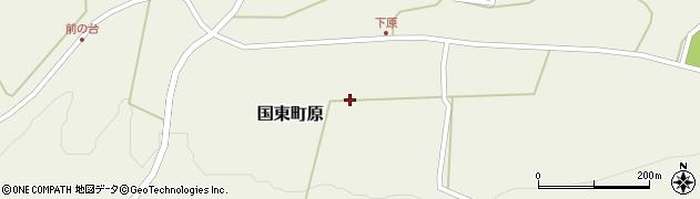 大分県国東市国東町原2644周辺の地図