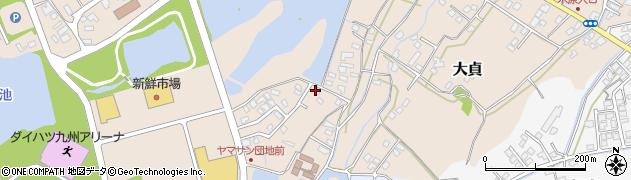 大分県中津市大貞382周辺の地図