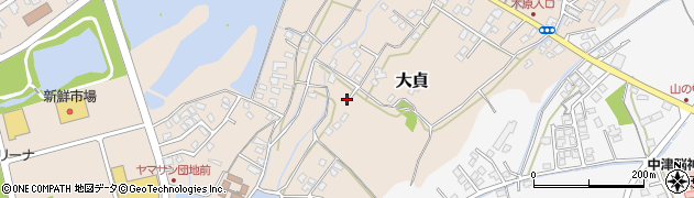大分県中津市大貞63周辺の地図