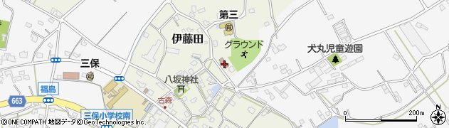 大分県中津市伊藤田2983周辺の地図