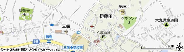 大分県中津市伊藤田3017周辺の地図