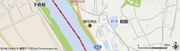 大分県中津市相原3218周辺の地図