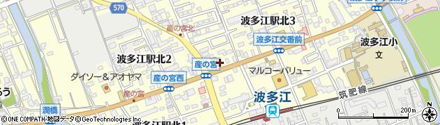 福岡県糸島市波多江駅北周辺の地図