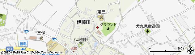 大分県中津市伊藤田2997周辺の地図