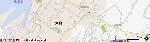 大分県中津市大貞10周辺の地図