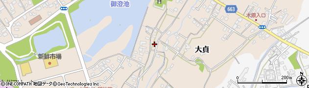 大分県中津市大貞175周辺の地図