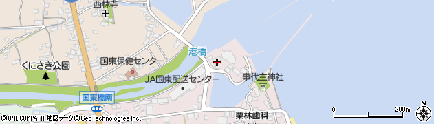 大分県国東市国東町鶴川24周辺の地図
