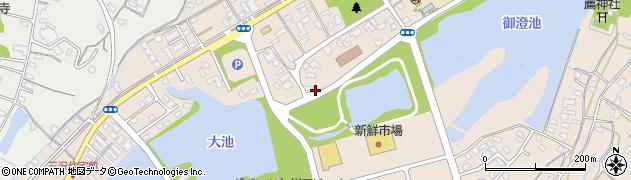 大分県中津市大貞29周辺の地図
