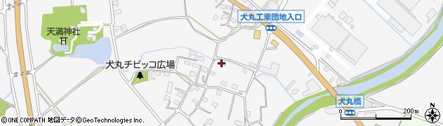 大分県中津市犬丸846周辺の地図