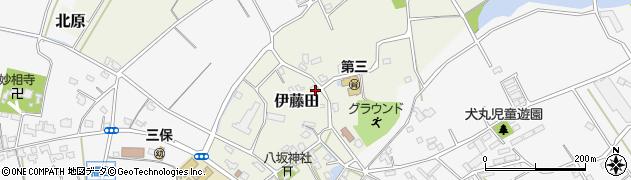 大分県中津市伊藤田3004周辺の地図