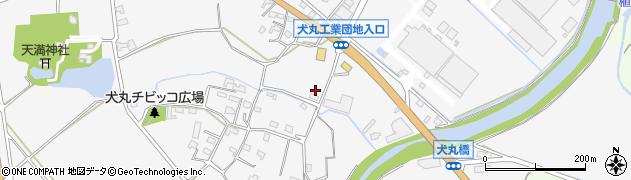 大分県中津市犬丸711周辺の地図