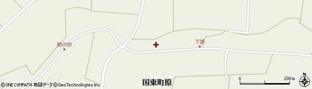 大分県国東市国東町原2339周辺の地図