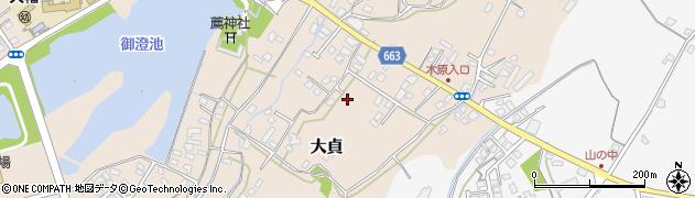 大分県中津市大貞122周辺の地図