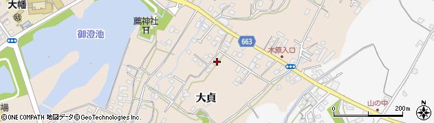 大分県中津市大貞117周辺の地図