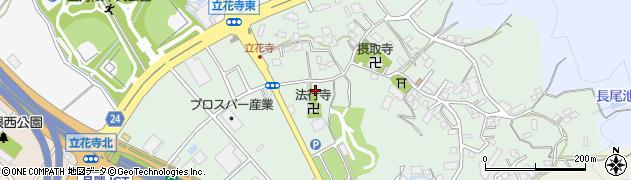 法行寺周辺の地図