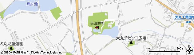 大分県中津市犬丸1530周辺の地図