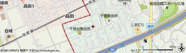 福岡県福岡市西区千里周辺の地図