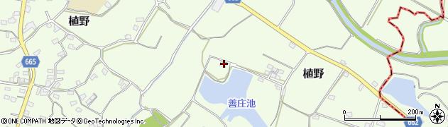 大分県中津市植野1599周辺の地図
