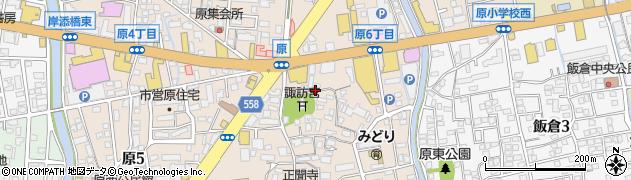 福岡県福岡市早良区原周辺の地図
