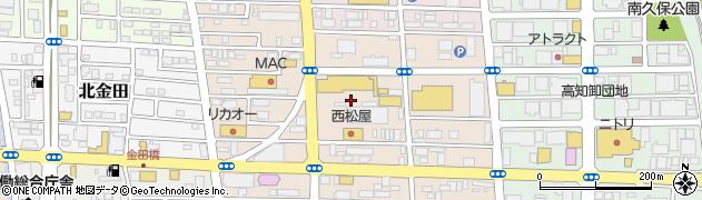 高知県高知市南御座周辺の地図