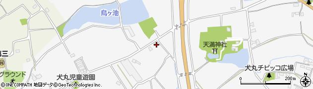 大分県中津市犬丸1373周辺の地図