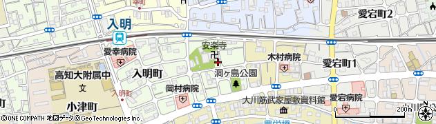 高知県高知市洞ヶ島町周辺の地図