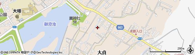 大分県中津市大貞114周辺の地図