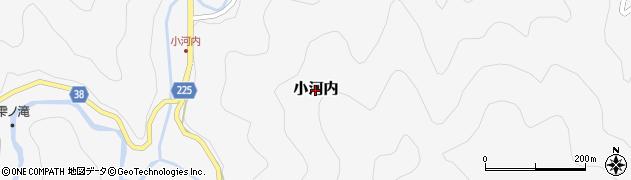 和歌山県すさみ町(西牟婁郡)小河内周辺の地図