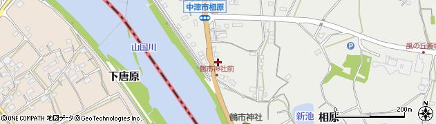 大分県中津市相原3246周辺の地図