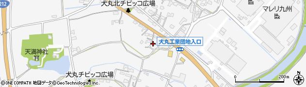 大分県中津市犬丸661周辺の地図