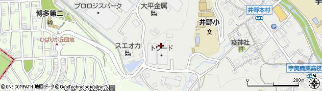 福岡県宇美町(糟屋郡)井野周辺の地図