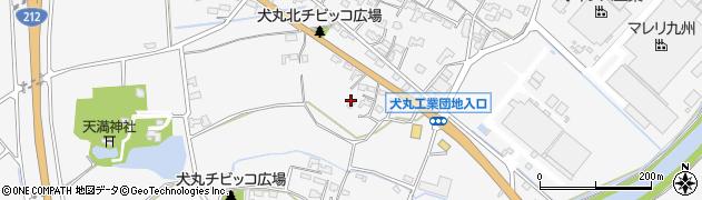 大分県中津市犬丸666周辺の地図