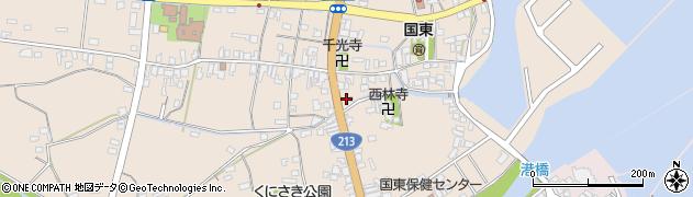 大分県国東市国東町田深646周辺の地図