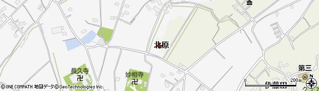 大分県中津市北原2周辺の地図